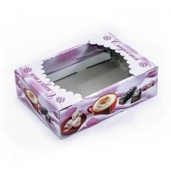 Упаковка под печенье, 0,3 кг