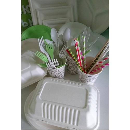 """ЗАО """"ТРИОЛЬ"""" представляет широкий выбор биоразлагаемой экологичной посуды и столовых приборов"""