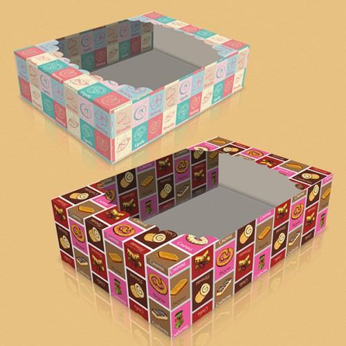 ЗАО «Триоль» Обновила линейку коробок для печенья и кондитерских изделий (под заказ)