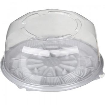Упаковка для торта Т-019 (крышка ПЭТ + дно)