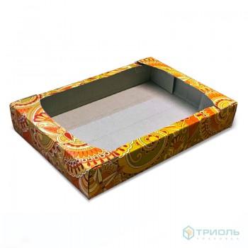 Упаковка под печенье 0,7-0,8 кг с пергаментом