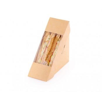 Упаковка для сэндвичей ECO SANDWICH 50 (130х130х50 мм)