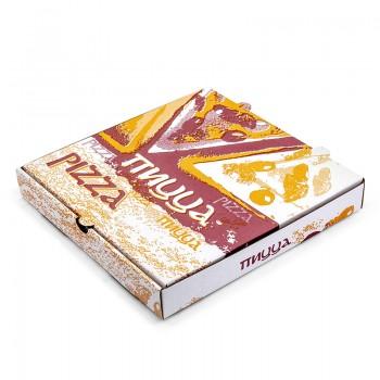 Упаковка для пиццы микрогофрокартон (моноблок)