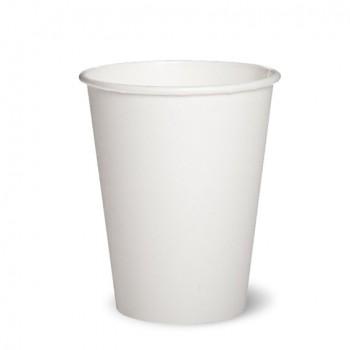 Бумажный однослойный стаканчик.