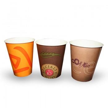 """Бумажный однослойный стаканчик """"Coffe take away"""", """"Кофе"""""""