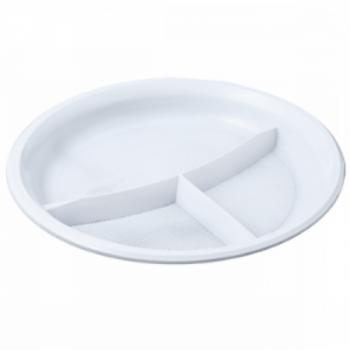 Тарелка 3-секционная, D=210 мм