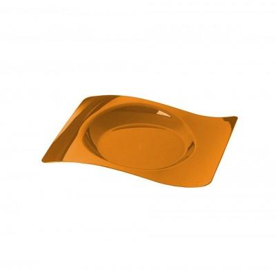 Тарелка 180х220 мм, ПС (одноразовая посуда для фуршетов)