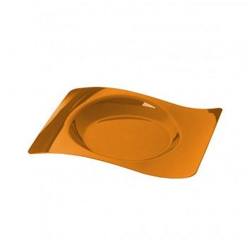 Тарелка 230х280 мм, ПС (одноразовая посуда для фуршетов)