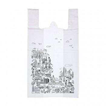 Пакет майка «Город», белый
